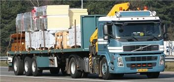 Vrachtwagen Huisman Gemert
